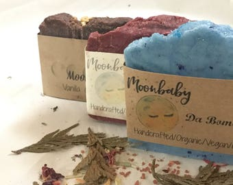 Three Pack Vegan Soaps- your choice of scent