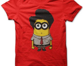 Minion Maurice Funny Nerd Geed The It Crowd Parody Mens T-shirt New