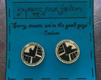 SALE! S.H.I.E.L.D. Earrings