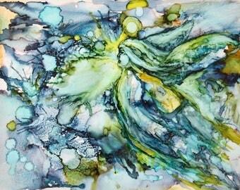 Original Angel Painting-Angel Artwork-'Angel Essence 5'