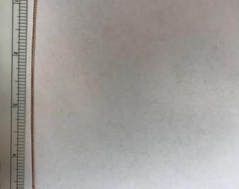 """14k Gold fine child's bracelet 5.5"""" long"""