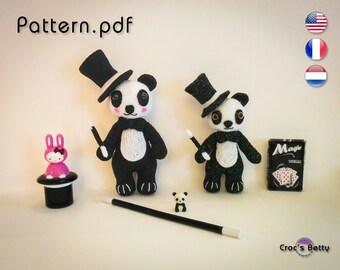 Pattern - Bambou, Wizard Panda