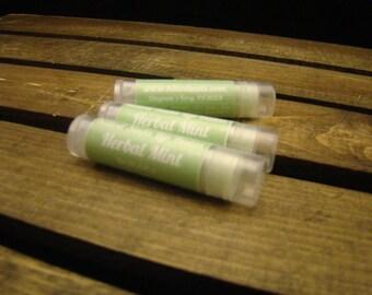 Herbal Mint Lip Balm, All Natural Lip Balm, Natural Lip Gloss, Bees Wax Lip Balm, Herbal Gloss, Herbal Lip Balm, Herbal Balm, Lip Care