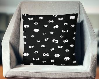 Creepy Pillow Case | Creepy Throw Pillow | Creepy Pillow Cover | Creepy Cushion | Creepy Decoration | Creepy Décor | Creepy Pillow
