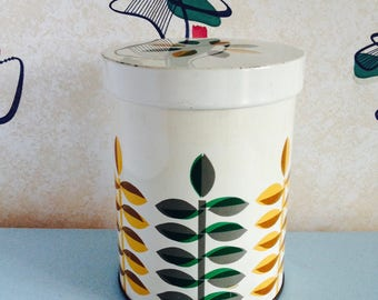 Vintage, 1960s, Tin/Canister