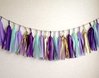 Mermaid Tassel Banner
