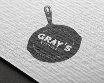 Custom Logo- Chef, Kitchen, Cooking