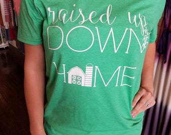 Down Home Tee-Women's Clothing-Country-Farm