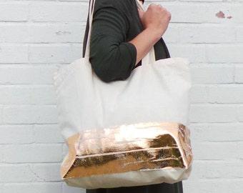 Beach bag,shopper tote bag,Metallic,gym bag,tote,Hen party bag,personalised,bridesmaid gift,reusable bag,bachelorette party