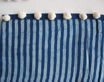 50 Pieces Small Sized  Ecru Pompom Dyeable Pompoms Cotton Pompoms