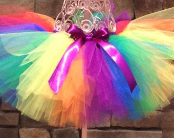 Pride Tutu, Adult Tutu, Parade Tutu, Rainbow Tutu, Teen Tutu, Walk Tutu, Race Tutu, Pride Week Tutu, Marathon Tutu, Rave Tutu, Mud Run Tutu