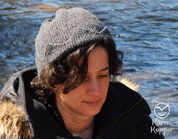 Knitting Pattern Jughead Hat : Jughead hat FRENCH PDF pattern. Knitting pattern. Easy ...