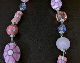 Candy charms necklace