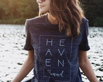 HEAVEN BOUND Christian Ladies T-shirt