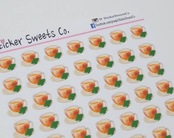 Tea / Herbal Tea Planner Stickers