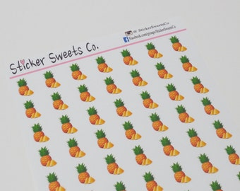 Pineapple Planner Stickers