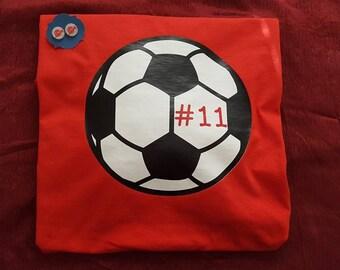 Soccer Tee-Soccer Mom Tee-Soccer Team Spirit