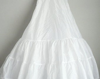 Crinoline Petticoat Long Wedding Prom Dress Slip