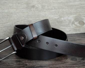 Mens Leather Belt,Top Grain Cowskin Belt
