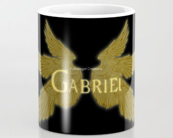 Supernatural Gabriel with Wings Mug, 4 Types Available! - Archangel