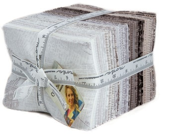 FREE SHIPPING Compositions Fat Quarter Bundle by BasicGrey for Moda Fabrics 30450AB