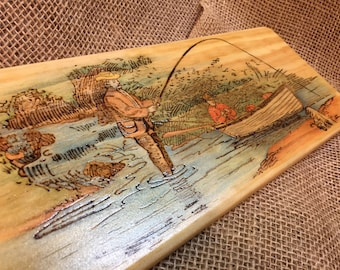 Fishermans paddle