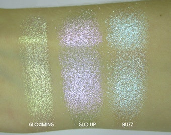 Phee's Makeup Shop Luxe Holographic Highlighter Trio - VEGAN + CRUELTY FREE