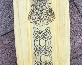 Skateboard Celtic warrior