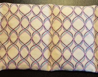 All Natural Corn Heating Bag - Pink & Purple Swirls