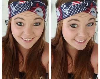 New England Patriots Headband