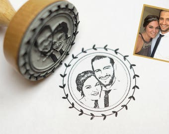 Photo stamps - face stamp – stamps personalized with your photo