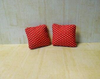miniature cushions , doll house cushions, miniatures, miniature accessories, doll house accessories