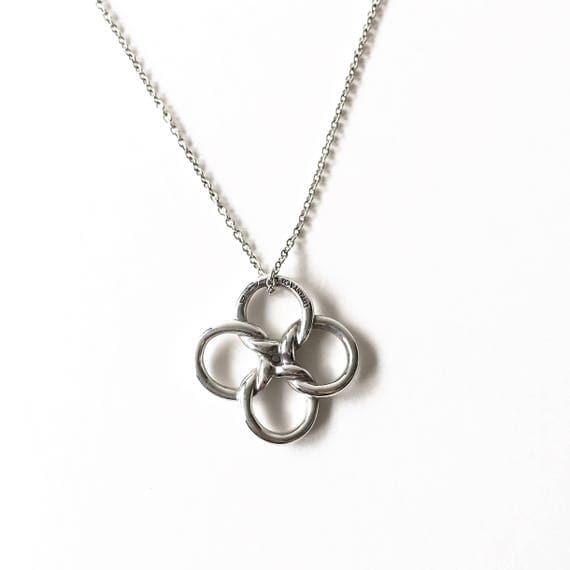Tiffany elsa peretti quadrifoglio pendant necklace mozeypictures Gallery