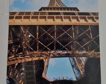 Eiffel Tower Paris 5x7 Card/Stationery Original Photography