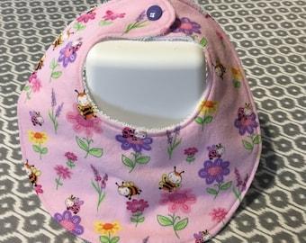 Baby Bib - Flannel/Terry Cloth