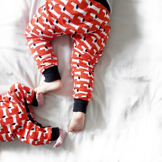 Red Rover Organic Cotton Harem Pants Leggings