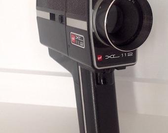 Vintage Super 8mm Gaf XL 112 motion picture film camera