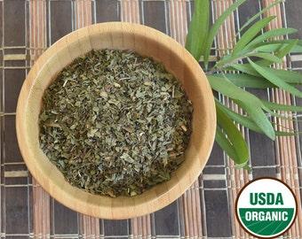 Organic Dried Peppermint Leaf. 1 oz Cut & Sifted