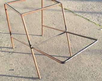Vintage Wire Framed Side Table