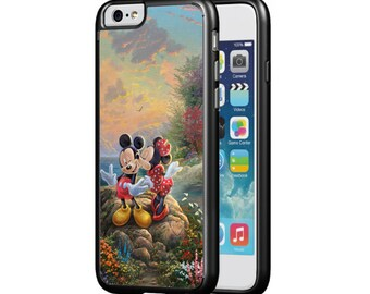 Disney Mickey and Minnie Mouse Protective Phone Case for iPhone 5/5s, iPhone 6/6s, iPhone 6 PLUS