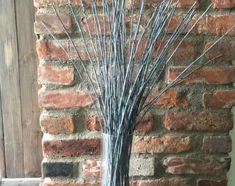 50 dried willow branches, decorative branches, willows,woodland