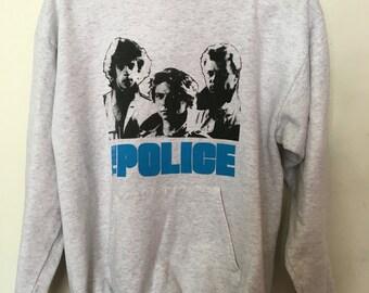 Vintage The Police band Sting hoodie/sweatshirt