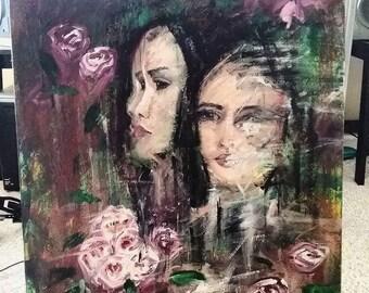 Glitch - Original Acrylic Painting