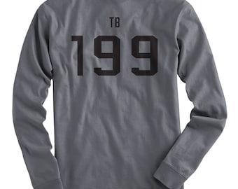 Tom Brady TB 199 Draft Women's Long Sleeve T-Shirt.