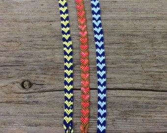 Filled-In Hearts Friendship Bracelets