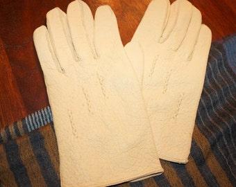 Vintage Ladies' Leather Gloves