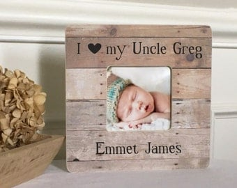 uncle gift uncle frame new uncle niece nephew