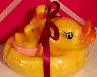 Rubber Ducky Soap Set