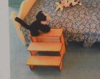 1:12 Dollhouse Miniature Bed Steps Kit DI PT255