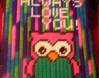 Owl photo album cover